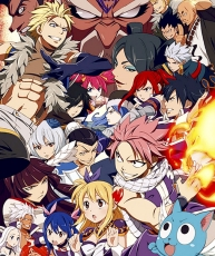 Fairy Tail, Natsu Dragneel, Gray Fullbuster, Lucy Heartfilia