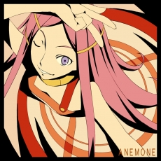Purple Eyes, Pink Hair, Necklace, Long Hair, Jewelry, Hair Clip, Female, Dress, Anemone, Eureka Seven