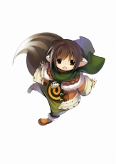 Game Arts, Grandia Online, Brown Eyes, Brown Hair, Kemonomimi, Male, Short Hair, Solo, Tail