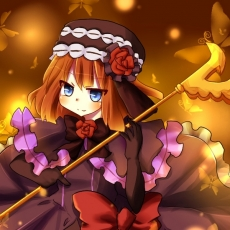 Staff, Eva-Beatrice, Umineko no Naku Koro ni, Female, Butterfly, Solo, Weapons, 07th Expansion