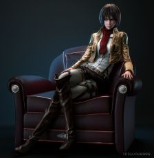 Mikasa Ackerman, Shingeki no Kyojin, Attack on Titan