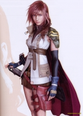 Femme Fatale, Pink Hair, Final Fantasy XIII, Blue Eyes, Éclair Farron