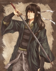Katsura Kotarou, Gintama, Boy, Sword, Long Hair