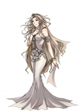 Armband, Bare Shoulders, Blonde Hair, Blue Eyes, Bracelet, Dress, Earrings, Female, Jewelry, Long Hair, Solo, Tiara