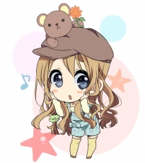 Chibi, Blue Eyes, K-ON!