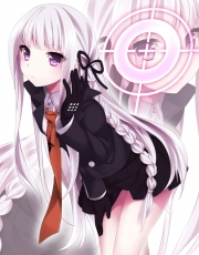 Danganronpa - Kibō no Gakuen to Zetsubō no Kōkōsei The Animation, Danganronpa The Animation, Kyōko Kirigiri