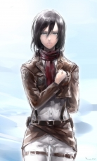 kimahri215, Mikasa Ackerman, Attack on Titan